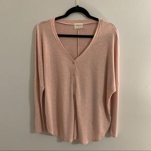 Pink top from Vestique!